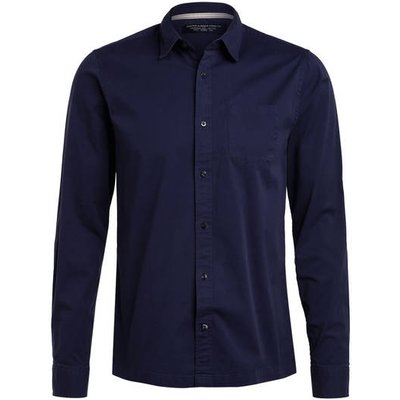 Scotch & Soda Hemd Regular Fit blau