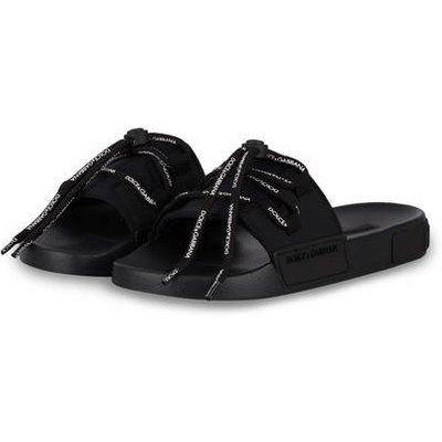DOLCE & GABBANA Dolce&Gabbana Pantoletten schwarz