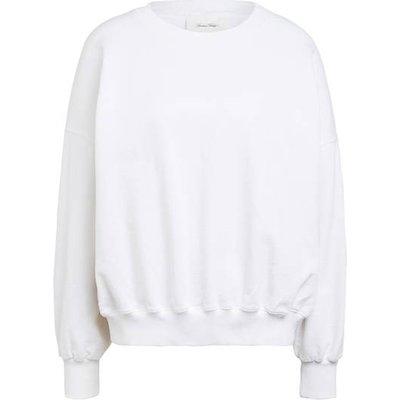 American Vintage Oversized-Sweatshirt weiss