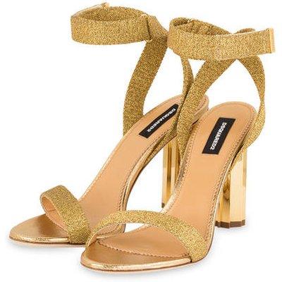 dsquared2 Sandaletten gold   DSQUARED2 SALE
