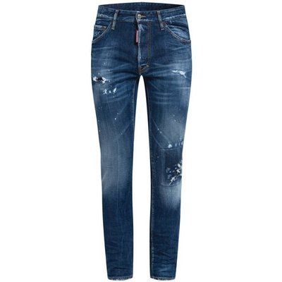 dsquared2 Destroyed Jeans Cool Guy Extra Slim Fit blau