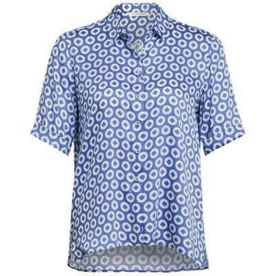 Eterna Busenshirt blau