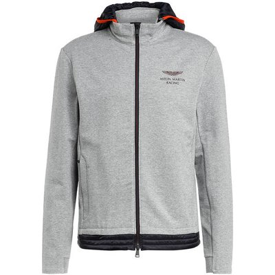 Hackett London Sweatjacke grau