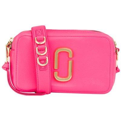 Marc Jacobs Umhängetasche The Softshot 21 pink