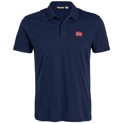 Napapijri Jersey-Poloshirt Entebe blau