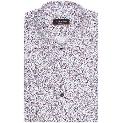 Eterna Halbarm-Hemd Modern Fit rosa