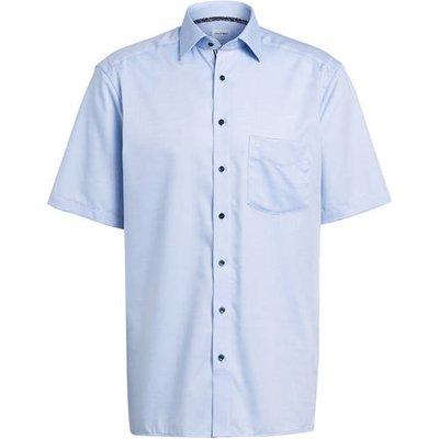 Olymp Halbarm-Hemd Luxor Comfort Fit blau