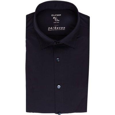 Olymp Jerseyhemd No. Six 24/7 Super Slim blau | OLYMP SALE