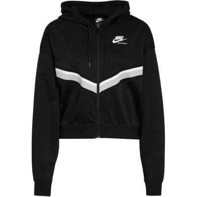 Nike Sweatjacke Heritage schwarz | NIKE SALE