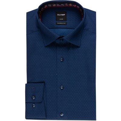 Olymp Hemd Luxor Modern Fit blau | OLYMP SALE