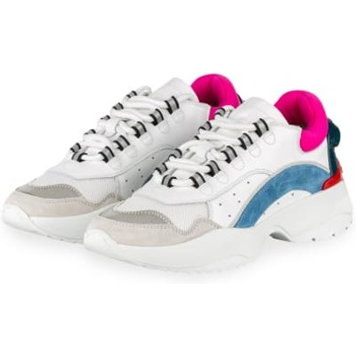 dsquared2 Plateau-Sneaker weiss | DSQUARED2 SALE