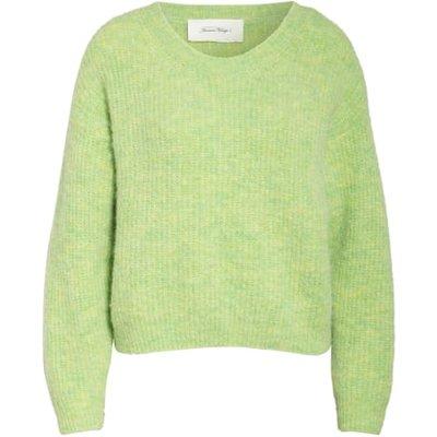 American Vintage Pullover East Mit Alpaka gruen | AMERICAN VINTAGE SALE