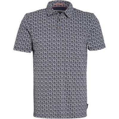 Ted Baker Jersey-Poloshirt Tdawg Slim Fit blau | TED BAKER SALE