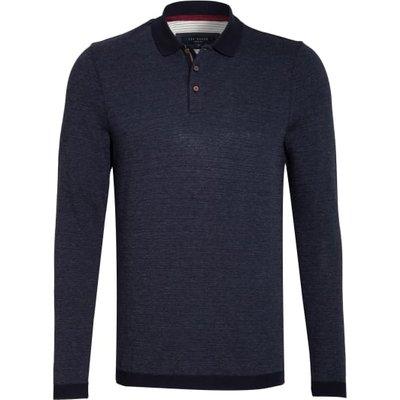 Ted Baker Piqué-Poloshirt Nosnor blau | TED BAKER SALE