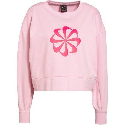 Nike Cropped-Sweatshirt rosa | NIKE SALE
