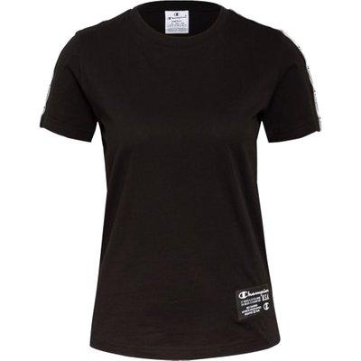 Champion T-Shirt Mit Galonstreifen schwarz | CHAMPION SALE