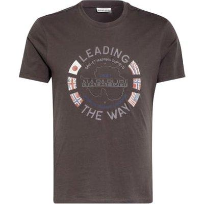 Napapijri T-Shirt Salya grau   NAPAPIJRI SALE