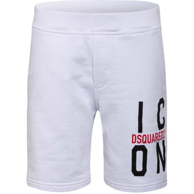 dsquared2 Sweatshorts weiss | DSQUARED2 SALE