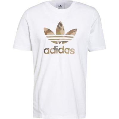 Adidas Originals T-Shirt Camo Trefoil weiss   ADIDAS SALE