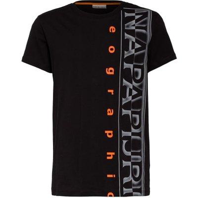 Napapijri T-Shirt schwarz   NAPAPIJRI SALE