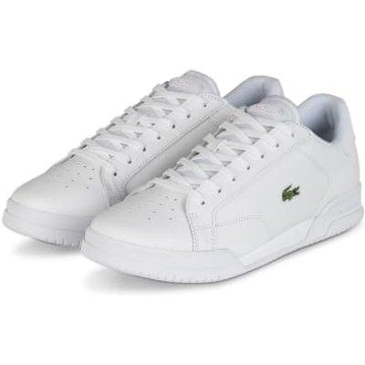 Lacoste Sneaker Twin Serve weiss | LACOSTE SALE