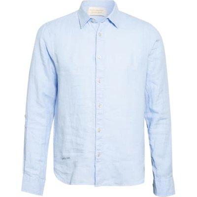 Scotch & Soda Leinenhemd Regular Fit blau | SCOTCH & SODA SALE