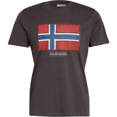 Napapijri T-Shirt Sirol grau   NAPAPIJRI SALE