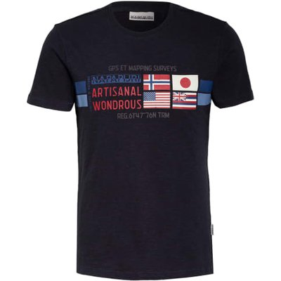 Napapijri T-Shirt Silea blau   NAPAPIJRI SALE