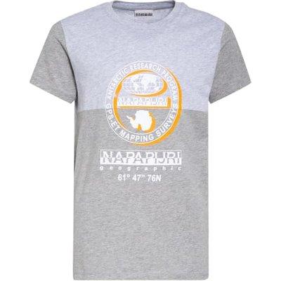 Napapijri T-Shirt grau   NAPAPIJRI SALE
