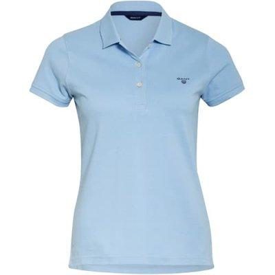 Gant Piqué-Poloshirt blau | GANT SALE