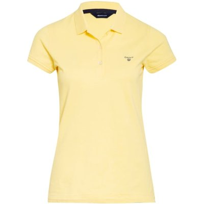Gant Piqué-Poloshirt gelb | GANT SALE