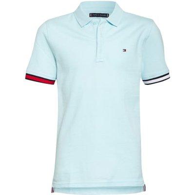 Tommy Hilfiger Piqué-Poloshirt blau | TOMMY HILFIGER SALE