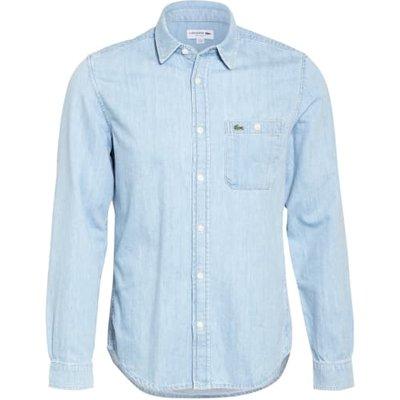 Lacoste Jeanshemd Regular Fit blau | LACOSTE SALE