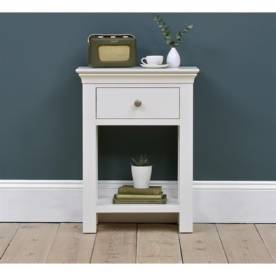 Chantilly White Telephone Table