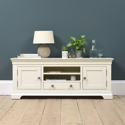 Chantilly White Large TV Unit - Up to 62