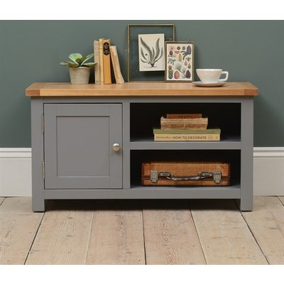 Florence Grey Small TV Stand up to 44''