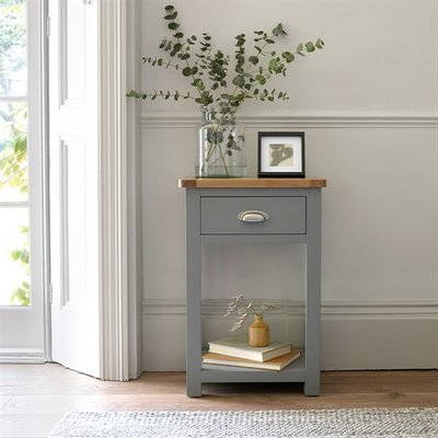 Florence Grey Telephone Table