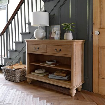 Wickham Washed Oak Console Table