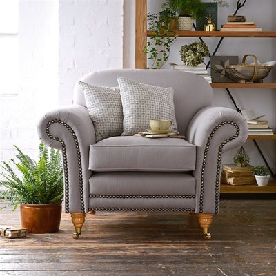 Burmington Armchair - Soft Touch Cotton