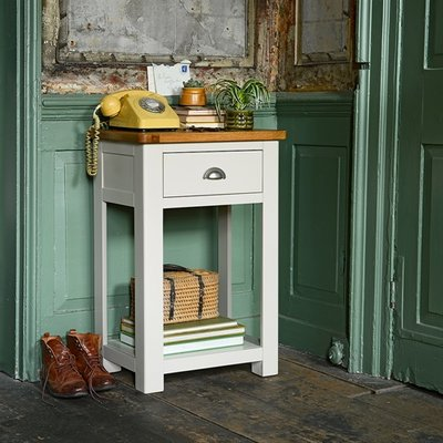 Lundy Stone Telephone Table