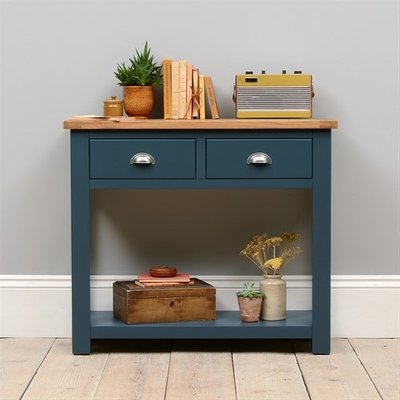 Westcote Blue Console Table