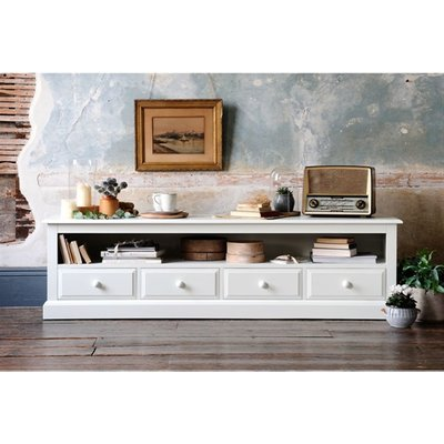 Burford Painted Extra Large TV Stand - Up to 80