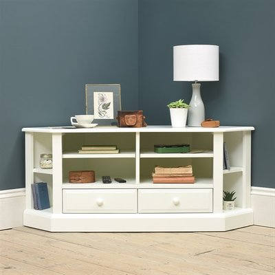 Burford Painted Large Corner TV Unit - Up to 57