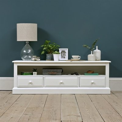 Burford Painted Widescreen TV Unit - up to 65