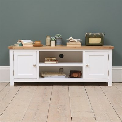 Snowshill White TV Stand - Up to 60