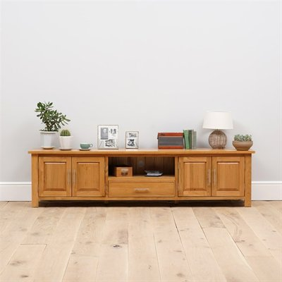 Newark Oak Extra Large TV Stand Up to 99''