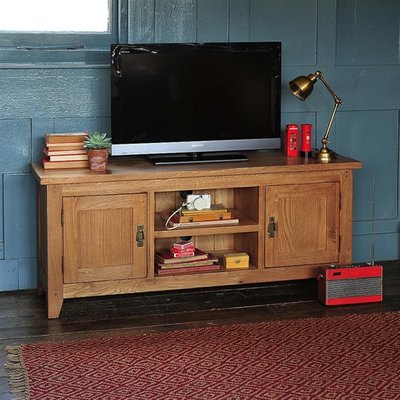 Oakland Widescreen TV Unit with 2 Doors- Up to 65