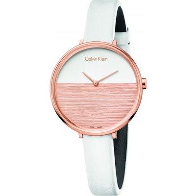 CALVIN KLEIN Calvin Klein Rise Damenuhr in Weiß K7A236LH