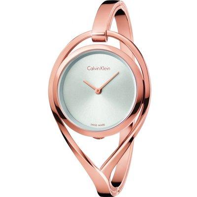 CALVIN KLEIN Calvin Klein Light Small Bangle Damenuhr in Rosa K6L2S616