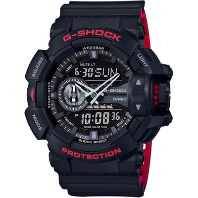 Casio G-Shock Herrenchronograph in Schwarz GA-400HR-1AER